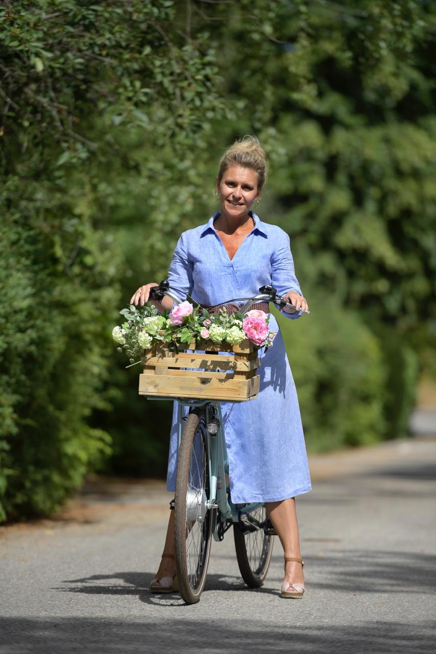 Madeleines Tradgard flowerbike