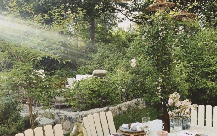 Trädgårdsinspiration pergola